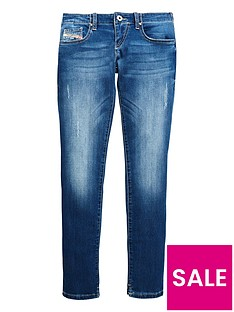 diesel-girls-distressed-jeans