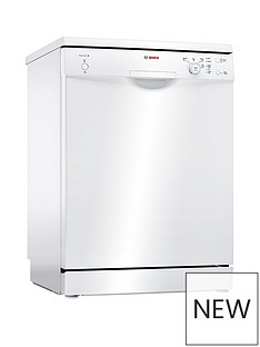 Bosch Serie 2 SMS24AW01G 12-Place Dishwasher with ActiveWater™ Technology - White Best Price, Cheapest Prices