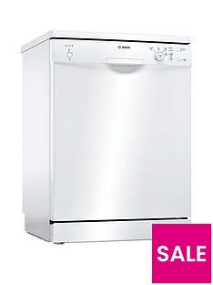 Bosch Serie 2 SMS24AW01G 12-Place Dishwasher with ActiveWater™ Technology - White