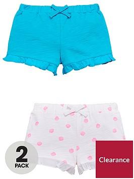 mini-v-by-very-pack-of-2-girls-loopback-ruffle-shorts-ndash-blueseashell