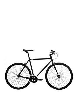 Image of FERAL Mens Fixie Road Bike 55cm Frame, Black, Men