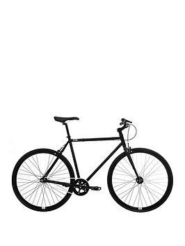 Image of FERAL Mens Fixie Road Bike 59cm Frame, Black, Men
