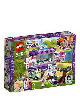 LEGO UK 41332 Emma's Art Stand Building Block Best Price and Cheapest