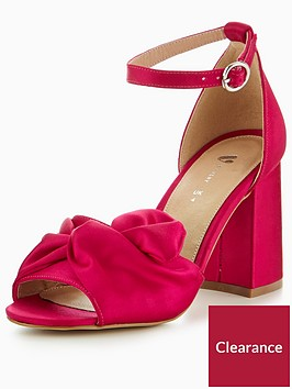 v-by-very-kylie-bow-satin-block-heel-sandal-hot-pink