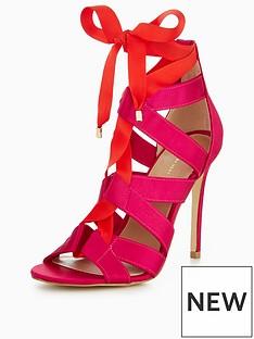 v-by-very-lulu-tie-detail-heel-sandal-pinkred