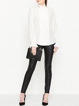 karl-lagerfeld-long-sleeve-silk-bow-blouse-white