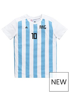 adidas-youth-argentina-10-tee
