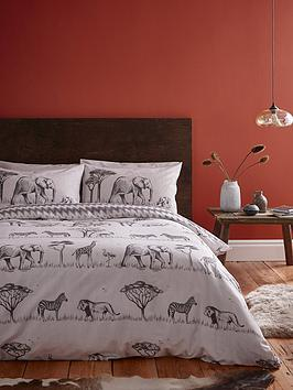 catherine-lansfield-safari-duvet-cover-set
