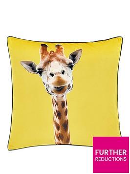 catherine-lansfield-giraffe-cushion