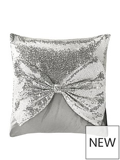 by-caprice-belle-sequin-and-velvet-bow-cushion