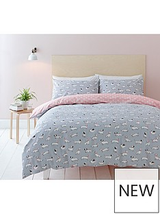 cath-kidston-mono-dog-100-200-thread-count-duvet-cover-set