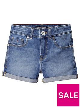 tommy-hilfiger-girls-denim-shorts