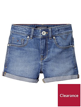 tommy-hilfiger-girls-denim-shorts