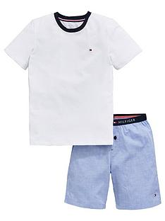 tommy-hilfiger-boys-short-pyjama-set