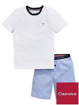 tommy-hilfiger-boys-short-pyjama-set