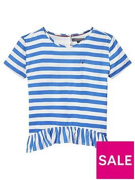 tommy-hilfiger-girls-peplum-stripe-short-sleeve-t-shirt