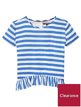 tommy-hilfiger-girls-peplum-stripe-short-sleeve-t-shirt