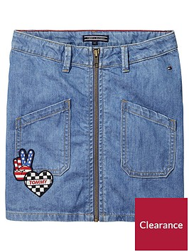 tommy-hilfiger-girls-badge-denim-skirt