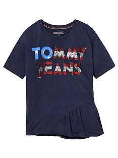 tommy-hilfiger-girls-sequin-short-sleeve-t-shirt