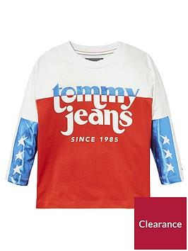 tommy-hilfiger-girls-long-sleeve-metallic-t-shirt-white