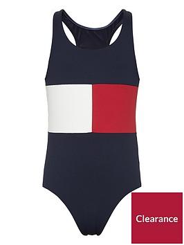 tommy-hilfiger-girls-flag-swimsuit