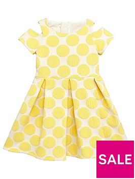 mini-v-by-very-girls-jacquard-spot-dress-ndash-yellow