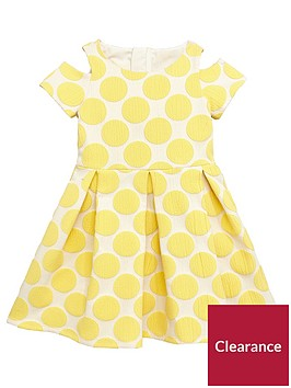 mini-v-by-very-girls-jacquard-spot-dress-ndash-yellow