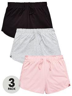 v-by-very-girls-3-pack-racer-shorts