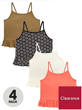 v-by-very-girls-4-pack-frill-cami-tops-multi