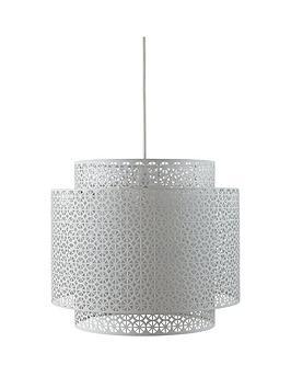 silana-2-tier-easy-fit-pendant-lightshade
