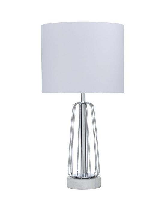 Marble base wire table lamp very keyboard keysfo Image collections