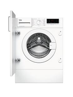 Beko WIY72545 7kg Load, 1200 Spin Built-in Washing Machine with Optional Connection - White Best Price, Cheapest Prices