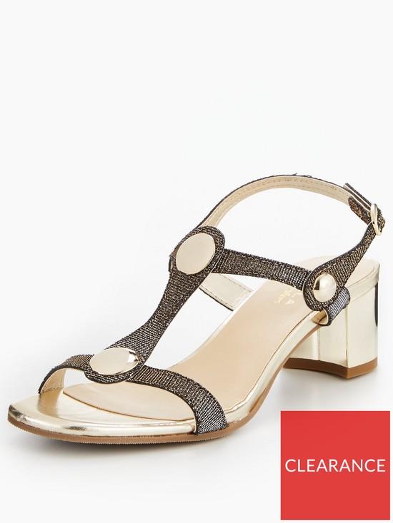 57a61b0af7e Carvela Comforts Sammie Mid Heel Sandal