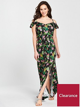 v-by-very-frill-bardot-jersey-maxi-dress
