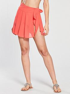 v-by-very-sheer-wrap-short-beach-skirt-watermelon