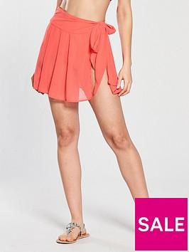 v-by-very-sheer-wrap-short-beach-skirt-watermelon