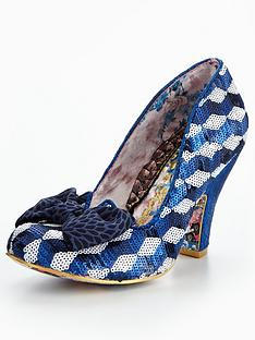 irregular-choice-nick-of-time-bow-glitter-court-shoe-bluewhite