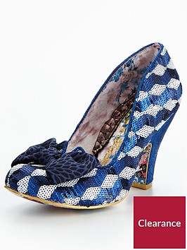 irregular-choice-nick-of-time-bow-glitter-court-shoe-bluewhite