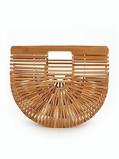 v-by-very-bamboo-half-moon-bag-natural