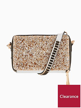 v-by-very-metallic-double-zip-crossbody-bag-rose-goldsilver