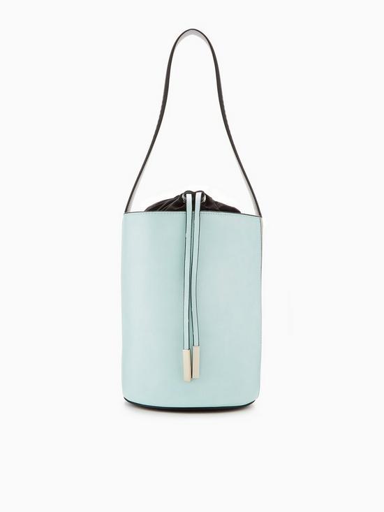 73affa180cb V by Very Colour Block Drawstring Bucket Bag   very.co.uk