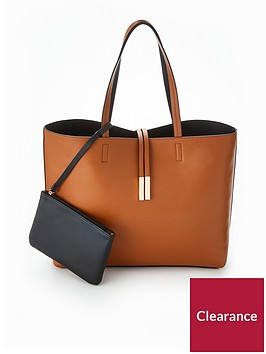 v-by-very-reversible-contrast-shopper-tanblack