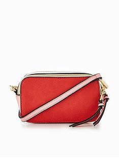 v-by-very-colour-block-double-zip-crossbody-bag-redpink