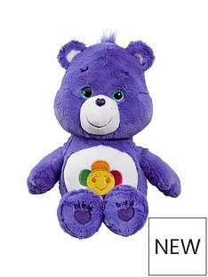 care-bears-medium-plush-harmony-bear
