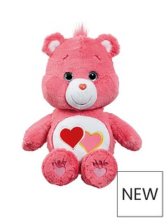 care-bears-medium-plush-love-a-lot-bear