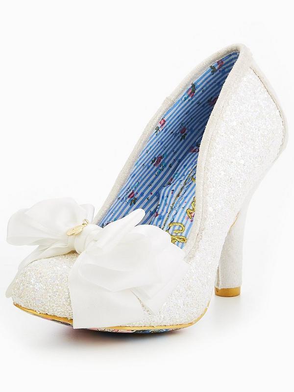 87825f58ec Ascot Glitter Wedding Court Shoe