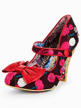 Irregular Choice Fancy This Glitter Heel Mary Jane Shoe