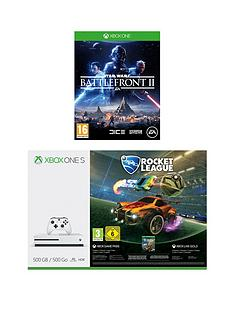 xbox-one-s-500gb-console-with-rocket-league-star-wars-battlefront-2-and-12-months-live