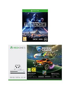 Image of Xbox One S 500Gb Console With Forza Horizon 3 Hot Wheels And Forza 7 Plus Optional Extra Controller And/Or 12 Months Xbox Live Gold - Xbox One S 500Gb Console And Forza Horizon 3 Hot Wheels + Forza 7