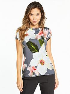 ted-baker-elijae-chatsworth-bloom-fitted-top